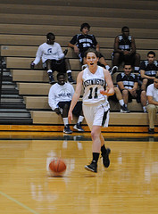 Girls basketball gains confidence with practice and victory