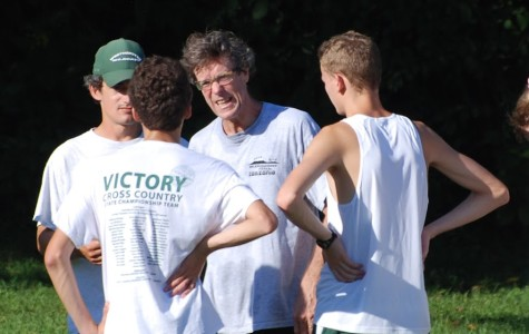 Joe Tribble, leading cross country to victory since 1984