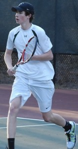 Boys varsity tennis has eyes on another title
