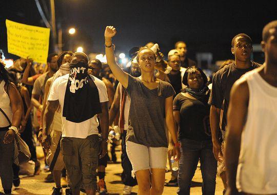 Ferguson riots inspire debate
