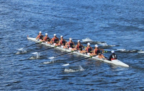 Westminster rowers participate in Head of the Charles Regatta
