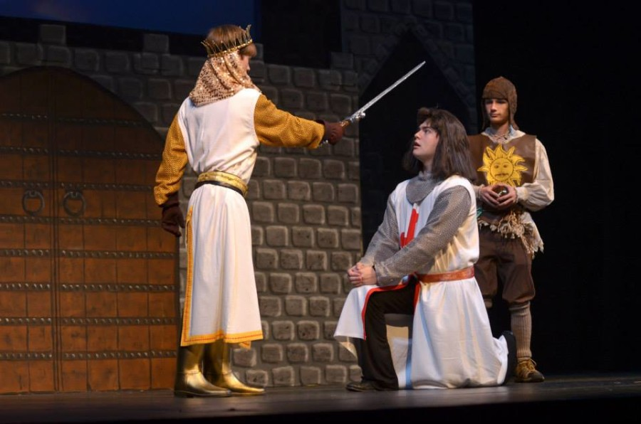 Content changes made to Spamalot