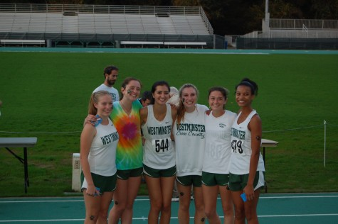 Seniors Lexi Eliott, Charlotte Folinus, Margaret Maxwell, Carson Simon, and freshmen Delaney Graham and Victoria Flowers won the Region meet on Wednesday, October 29