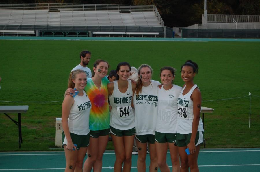 Seniors+Lexi+Eliott%2C+Charlotte+Folinus%2C+Margaret+Maxwell%2C+Carson+Simon%2C+and+freshmen+Delaney+Graham+and+Victoria+Flowers+won+the+Region+meet+on+Wednesday%2C+October+29