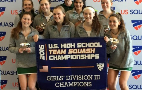 Nationally ranked squash team finishes season strong