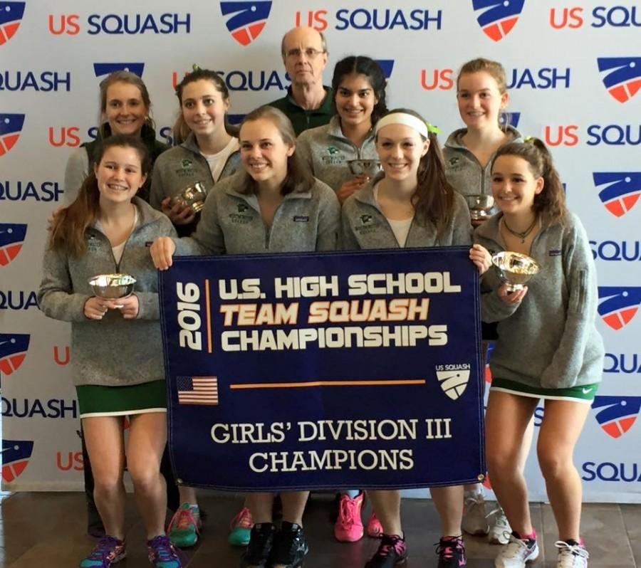 Nationally ranked squash team finishes season strong