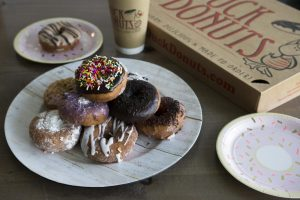 Duck Donuts is a must-visit for those with a sweet tooth.